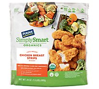 PERDUE Simply Smart Organics Lightly Breaded Chicken Strips - 24 Oz.
