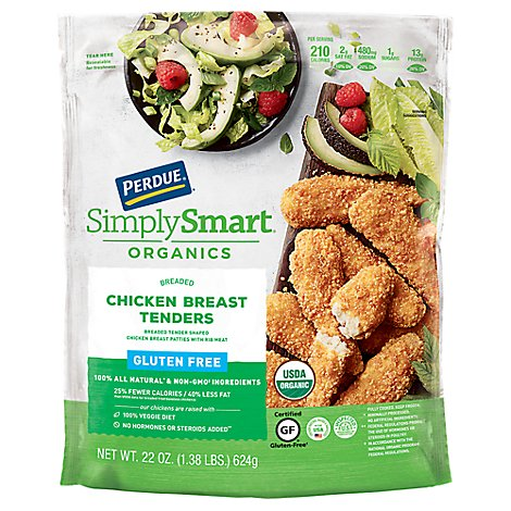 PERDUE Chicken Breast Tenders Breaded Gluten Antibiotic Free - 22 Oz