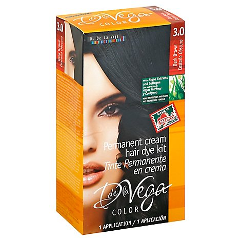 D De La Vega Hair Dye 3.0 Dark Brown - Each
