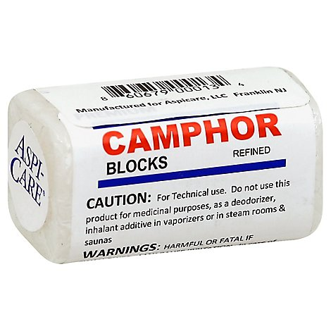 Aspi-Care Camphor Blocks 4 Pcs - .89 Oz
