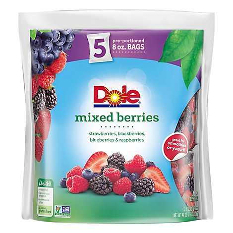 Dole Fruit Mixed Berries - 40 Oz