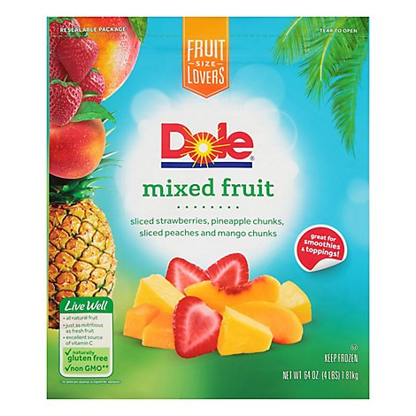 Dole Mixed Fruit - 4 Lb