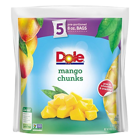 Dole Fruit Mango Chunks - 40 Oz