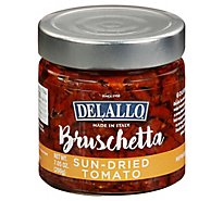 Delallo Sundried Tomato Bruschetta - 7.05 Oz
