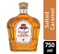 Crown Royal Whisky Flavored Salted Caramel 70 Proof - 750 Ml