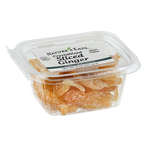Ginger Crystallized Sliced - 8 Oz