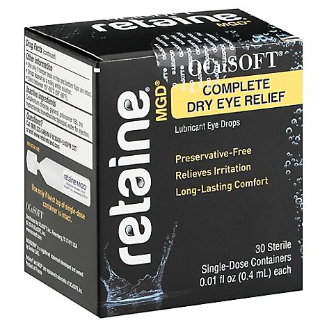 Retaine Lub Eye Drops - 30 Count
