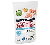 Open Nature Shrimp Raw Wild Caught Shell On 31-40 Count - 16 Oz