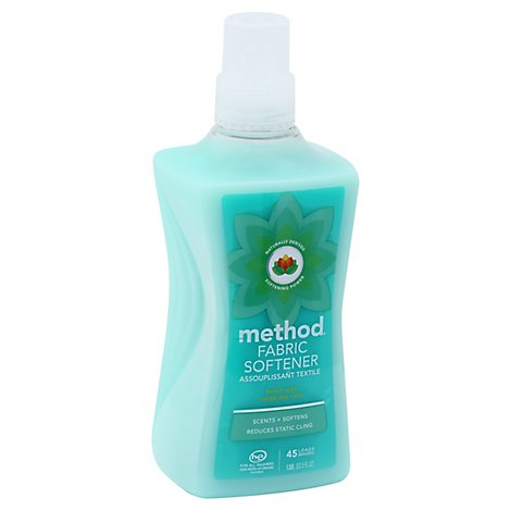 Method Fabric Softener Beach Sage - 53.5 Fl. Oz.
