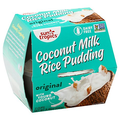 Sun Tropics Pddng Rice Coconut - 8.46 Oz