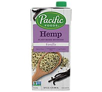 Pacific Beverage Non-Dairy Hemp Vanilla - 32 Fl. Oz.