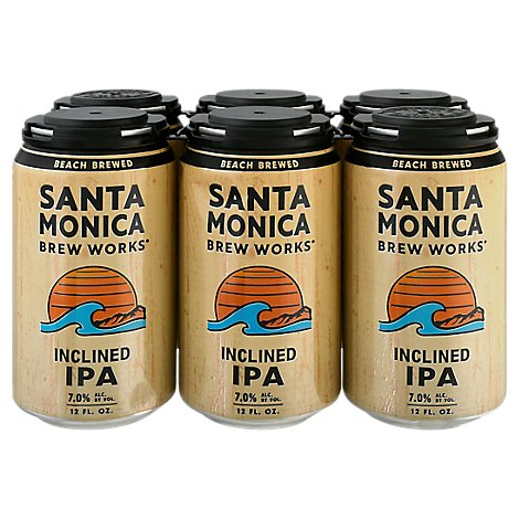 Santa Monica Inclined Ipa In Cans - 6-12 Fl. Oz.