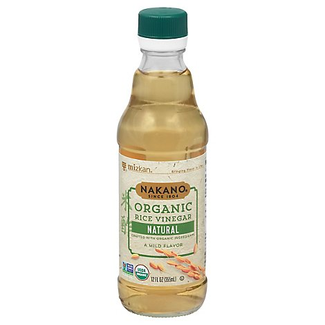 Nakano Organic Vinegar Rice Natural - 12 Oz