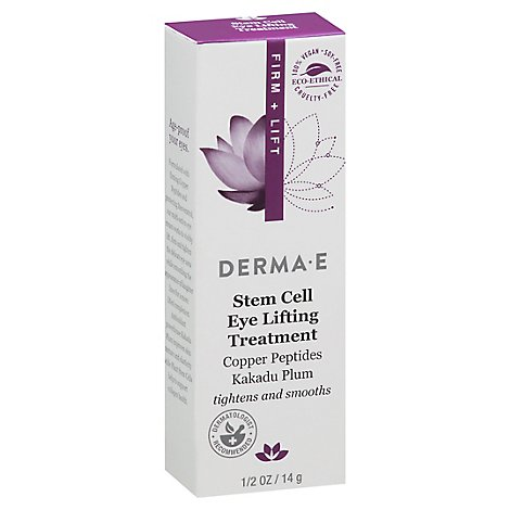 Derma E Eye Lift Firming Dmae - 0.5 Oz