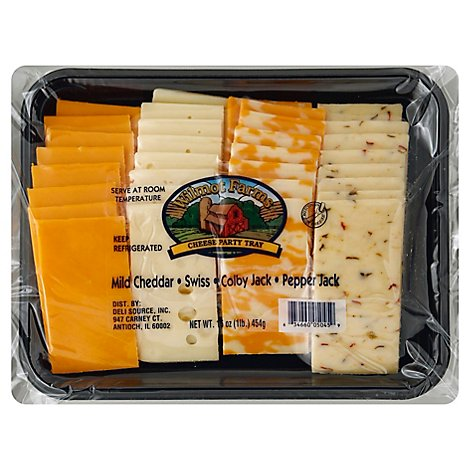 Wilmot Farms Cheese Party Tray - 16 Oz