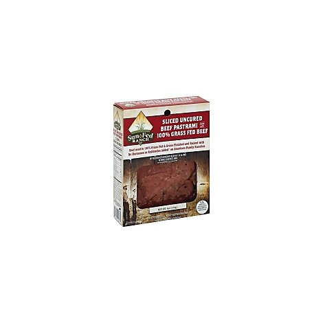 Sunfed Ranch Uncured Sliced Pastrami - 6 Oz