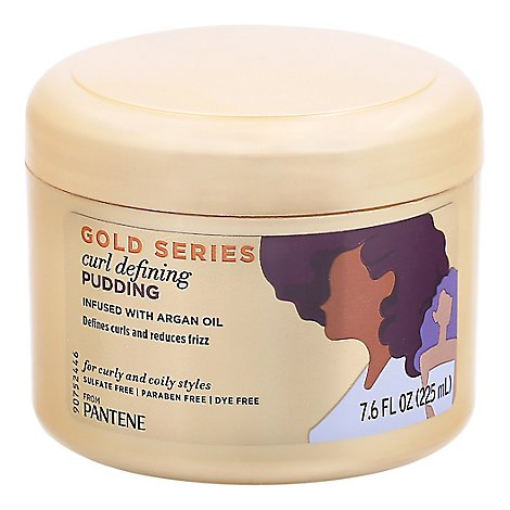 Pantene Gold Curl Defining Pudding - 7.6 Fl. Oz.