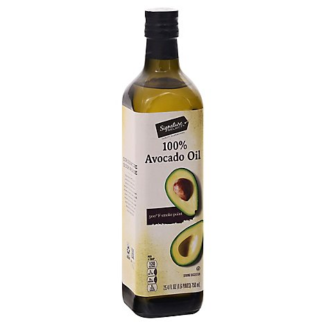 Signature SELECT Oil Avocado 100% - 25.4 Fl. Oz.