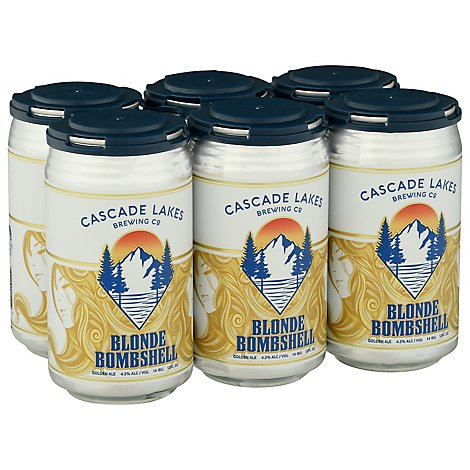 Cascade Lakes Blonde Bombshell In Cans - 6-12 Fl. Oz.