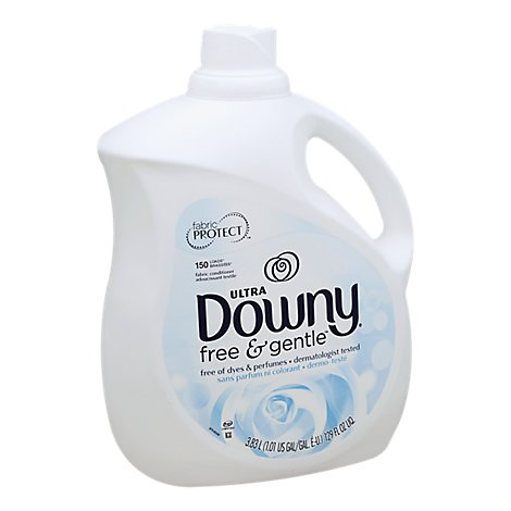Downy Ultra Fabric Conditioner Free & Gentle Jug - 129 Fl. Oz.
