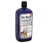 Dr Teals Coconut Oil Foam Bath - 34 Fl. Oz.
