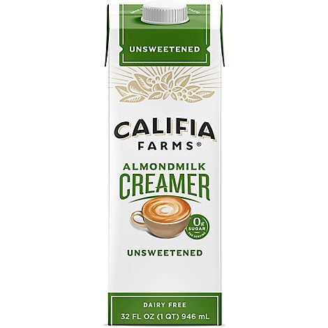 Califia Farms Unsweetened Almondmilk Creamer - 32 Fl. Oz.