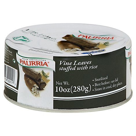 Palirria Vine Leaves Stuffed With Rice - 10 Oz