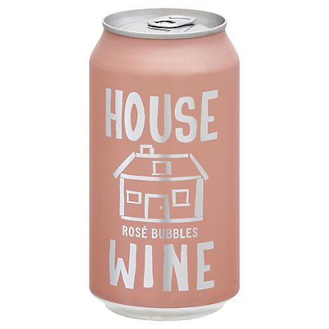 House Wine Sparkling Rose Can - 375 Ml