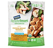 PERDUE Simply Smart Organics Gluten Free Breaded Chicken Breast Nuggets - 22 Oz.