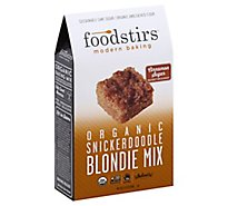 Foodstirs Organic Snickerdoodle Blonde Mix - Each