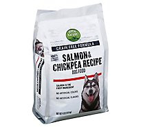 Open Nature Dog Food Grain Free Salmon & Chickpea Recipe Bag - 4 Lb