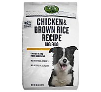 Open Nature Dog Food Chicken & Brown Rice Recipe - 30 Lb