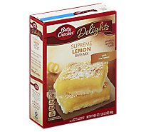 Betty Crocker Dessert Sunkist Lemon Bar - 16.50 Oz