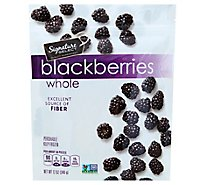 Signature SELECT Blackberries Whole Frozen - 12 Oz