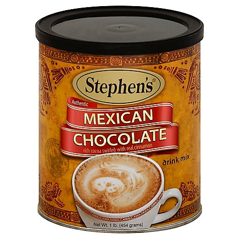 Stephens Drink Mix Authentic Mexican Chocolate - 1 Lb