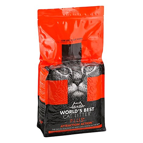 Worlds Best Cat Litter Plus Attraction Action Bag - 6.5 Lb