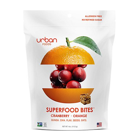 Urban Foods Cranberry Orange Bites - 4 Oz