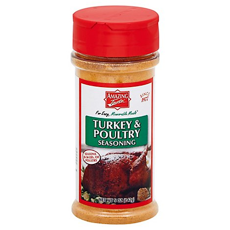 Amazing Taste Turkey & Poultry Seasonings - 5 Oz