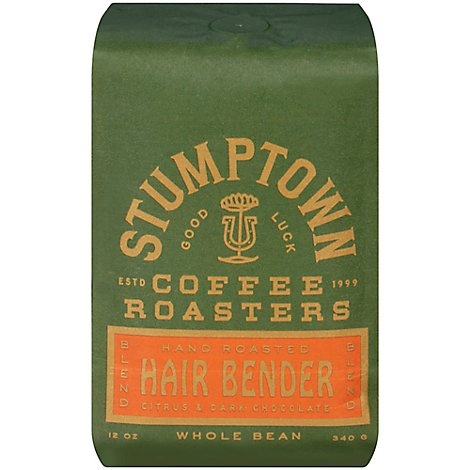 Stumptown Hair Bender Whole Bean - 12 Oz