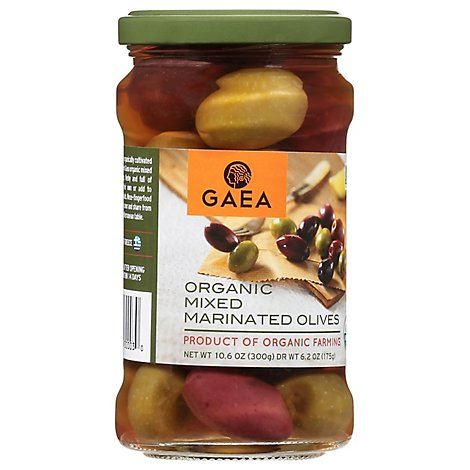Cat Coras Kitchen Orgnc Olive Mixed Marinated - 6.4 Oz