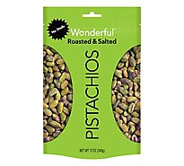Wonderful Pistachios No Shells Roasted & Salted Pistachios - 12 Oz.