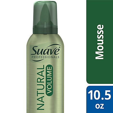 Suave Professionals Mousse Natural Volume - 10.5 Oz