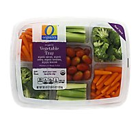 O Organics Organic Vegetable Tray - 36.5 Oz