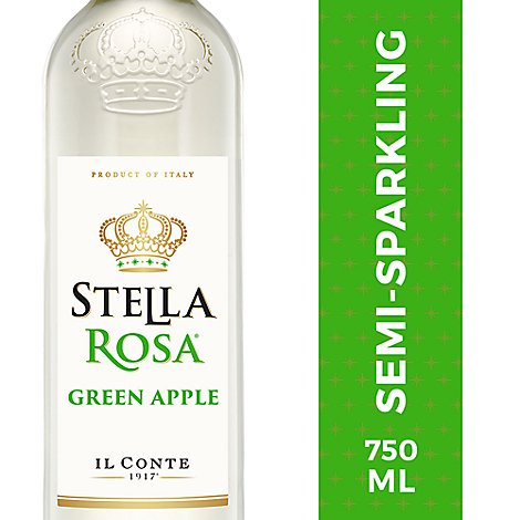 Stella Rosa Wine Il Conte Green Apple - 750 Ml