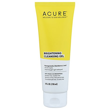 Acure Facial Gel Cleanser - 4 Fl. Oz.