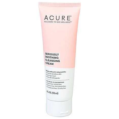 Acure Cleanser Facial Sensitive - 4 Fl. Oz.