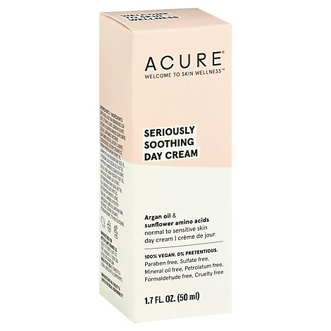 Acure Facial Cream Sensitive Argan Oil - 1.7 Fl. Oz.