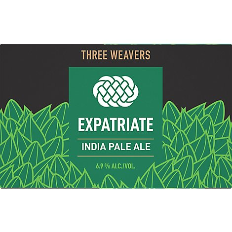 Three Weavers Brewing Co. Expatriate Ipa In Cans - 6-12 Fl. Oz.