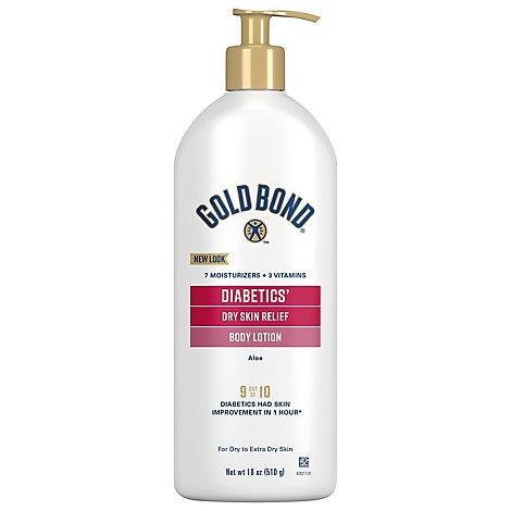 Gold Bond Diabetics Dry Skin - 18 Oz