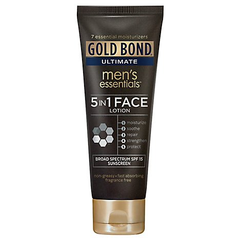 Gold Bond Mens Face Lotion - 3.3 Fl. Oz.